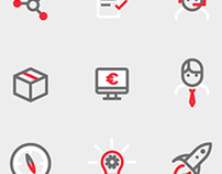Mapfre innovation icons & illustrations