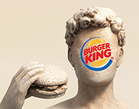 Burger King Bust