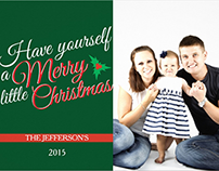Have Yourself a Merry Little Christmas | Photo Cards