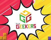 Logo Loja Geekers