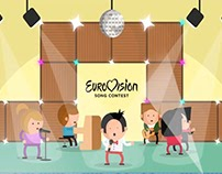 Eurovision fanhouse content addition | 2D animation
