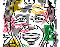 POSTER Nelson Mandela 100th birthday anniversary