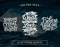 Hand Lettering Motivational Quotes Vol. 2
