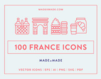 Line Icons – France