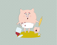 Персонажи Хрюши - funny pigs