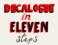 Decalogue (in eleven steps)