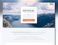 Physical Material Design Template