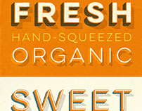Lulo Font Family (textured and clean)