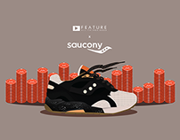 Saucony G9 Shadow 6 High Roller