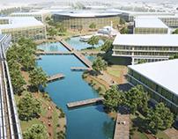 Um alhoul business park Qatar