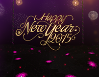 Happy New Year 2015 IDENT