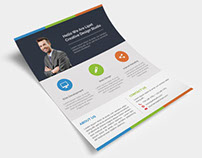 Freebies: Clean Corporate Flyer Free PSD