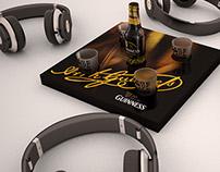 Guinness Product Sampling - Design & 3D Visualisation