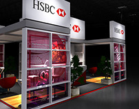 HSBC Exhibition Stand Design & 3D Visualisation