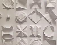 折り紙開き紙 : ori-gami hiraki-gami