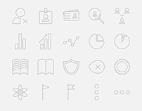 Ultimate Thin Line Icon Set