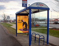 Transit Ads - Bus Shelters