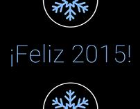 Felicitación año 2015