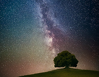 Tuscany Milky Way