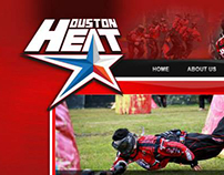 Houston Heat - Web site