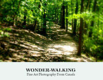 """Wonder-Walking"" Fine Art Photography From Canada,Book"