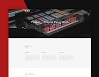 Twelve20 Graphic Design Hub Website