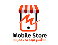 Mobile store Logo