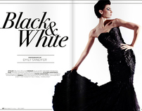 "Bunkerhill Magazine January 2011 - ""Black and White"""