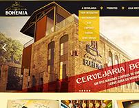 Site Cervejaria Bohemia