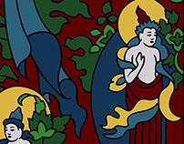 Tibetan Designs Color Explorations