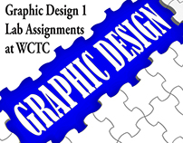 Graphic Design 1 Lab Assinments