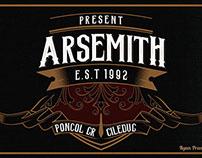 Arsemith Typeface