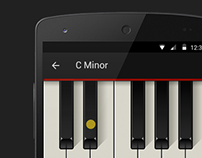Piano Chords Android app