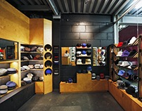 Kangol shop in Moscow