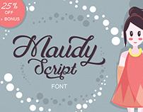 Maudy Script