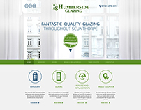 Windows & Doors Glazing - Web Design