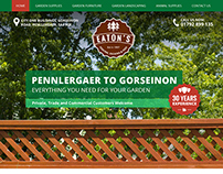 Garden Fencing - Web Design