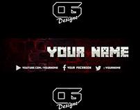 Minecraft YT Banner Template