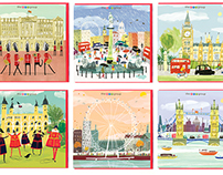 City Life card range for The Art Group
