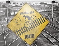 RestiCat - Alleycat poster 4 Hungarian bike messengers