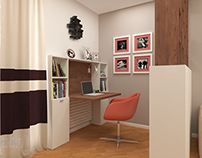 Guest's room (Fen shui) / Гостевая комната
