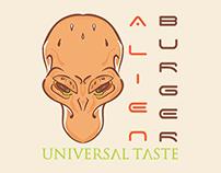 Alien Burguer - Logo For Sale