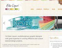 Ester Liquori Design Web Portfolio