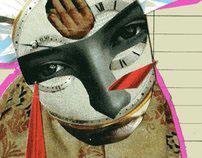 Saints & Whores- Silvio Berlusconi Haarem Collage