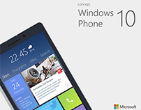 Windows Phone 10 Concept