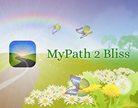 My Path to Bliss - app promotional video