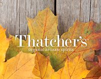 Thatcher's Organic Artisan Spirits // Display Promo