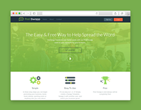 Post Swapp - Landing Page