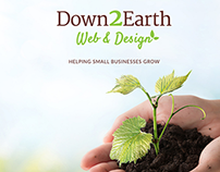 Down2Earth Website Branding & Design