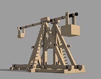 Physx Trebuchet 3D